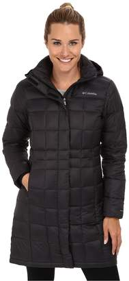 Columbia Hexbreakertm Long Down Jacket Women's Jacket