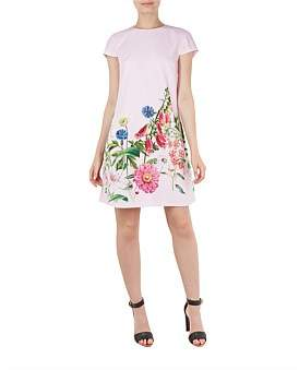 Ted Baker Gemmma Florence Print Swing Dress