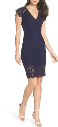 Heartloom Emilia Lace Sheath Dress