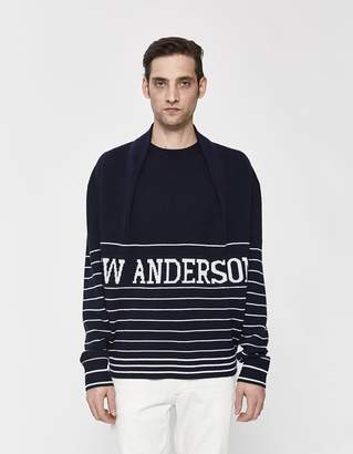 J.W.Anderson Logo Knitted Sweater