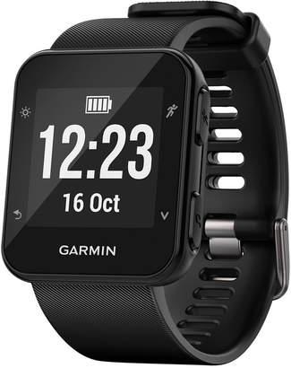 Garmin Unisex Forerunner 35 Black Silicone Strap Gps Running Smart Watch 24mm