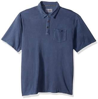 Margaritaville Men's Short Sleeve Landshark Pocket Polo