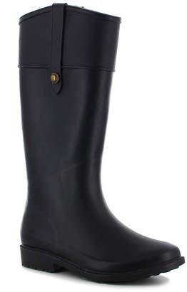 Chooka FASHION Fashion Womens Brinn Rain Boot Rain Boots Waterproof Flat Heel Pull-on
