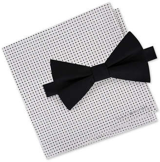 Tommy Hilfiger Men Bow Tie & Pocket Square Set