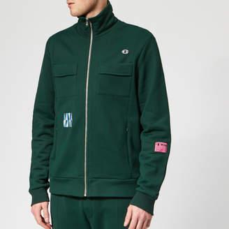 Champion X Men's Tony Full Zip Sweatshirt Green