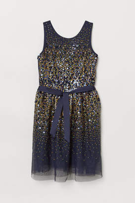 H&M Sequined Dress - Blue