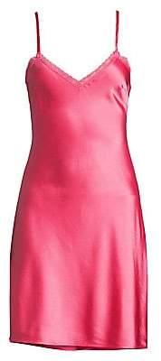 Morgan Lane Women's Sienna Lace Trim Slip Dress
