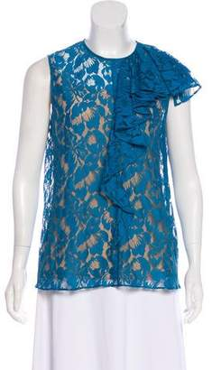 Stella McCartney Sleeveless Lace Top