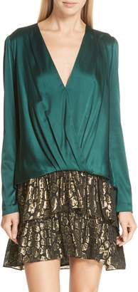 A.L.C. Harmon Stretch Silk Blouse