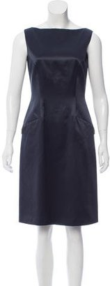 Tahari Knee-Length Silk Dress $85 thestylecure.com