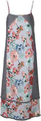 I'M Isola Marras spaghetti strap floral print dress