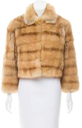 Pologeorgis Sable Fur Jacket