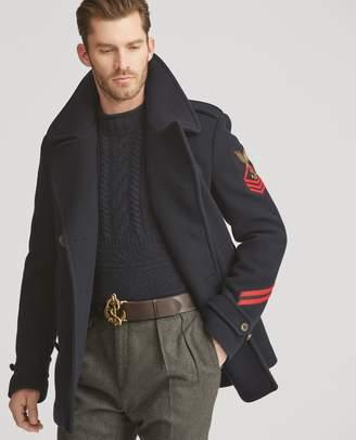Ralph Lauren Wool-Cashmere Peacoat