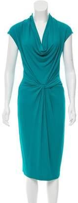 Michael Kors Draped Midi Dress w/ Tags