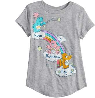 """DAY Birger et Mikkelsen Girls 4-10 Jumping Beans Care Bears """"Have A Rainbow Graphic Tee"""