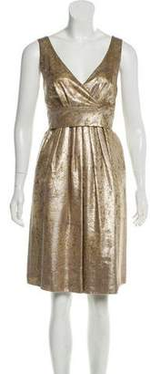 Etro Sleeveless Metallic Dress