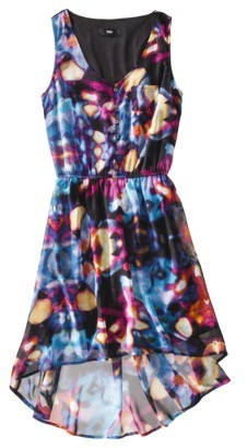 Mossimo Women's Sleeveless Hi-Lo Woven Dress - Assorted Prints