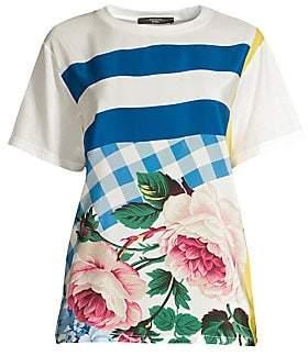 Max Mara Women's Eulalia Stripe Cotton Tee