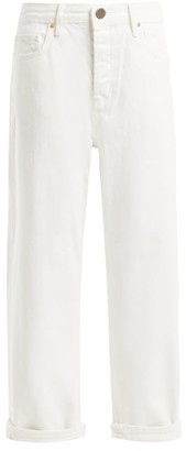 Raey - Dad Baggy Boyfriend Jeans - Womens - White