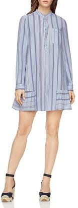 BCBGMAXAZRIA Lucile Striped Shirt Dress $248 thestylecure.com