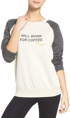The Laundry Room Will Work for Coffee Sweatshirt $88 thestylecure.com