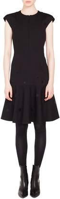 Akris Punto Mirror Detail Dress