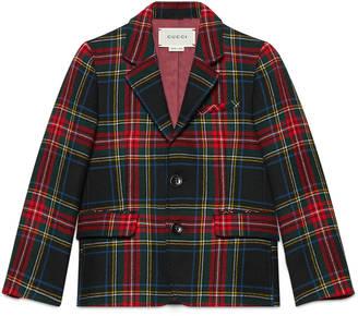 Children's wool tartan jacket $655 thestylecure.com