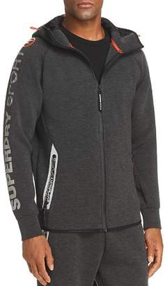 Superdry Gym Tech Zip-Front Hoodie