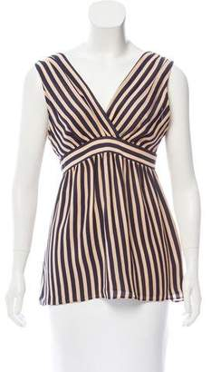 Ted Baker Sleeveless Striped Top