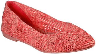 Skechers Womens Cleo - Knitty City Ballet Flats Pointed Toe