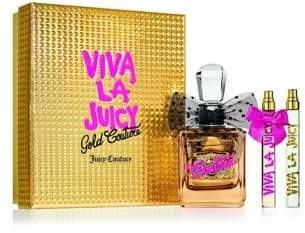 Juicy Couture Three-Piece Viva La Juicy Gold Couture Gift Set