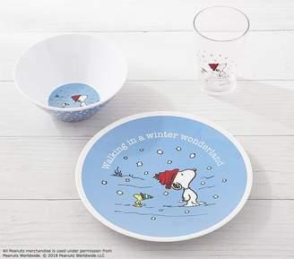 Pottery Barn Kids Snoopy® Holiday Tabletop Giftset, Winter Wonderland