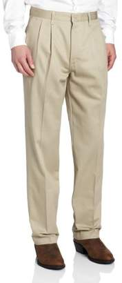 Wrangler Men's Big & Tall Riata Pleated Front Casual Pant