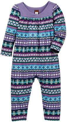 Tea Collection Islay Wrap Neck Romper (Baby Girls)