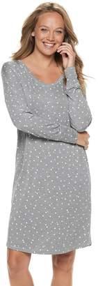 Sonoma Goods For Life Women's SONOMA Goods for Life High-Low Sleepshirt