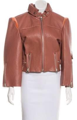 Acne Studios Leather Miya Jacket w/ Tags