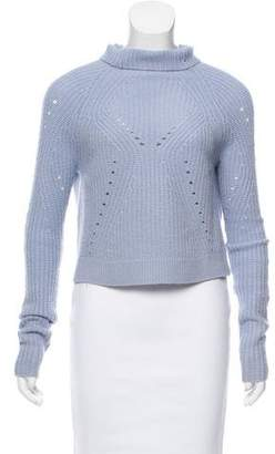 Tess Giberson Cutout Wool Sweater