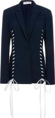 Prabal Gurung Whipstitch Seam Jacket