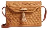 Nordstrom Celeste Straw Crossbody Bag