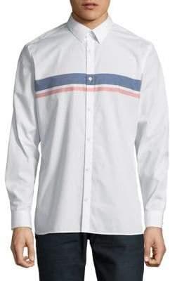 Calvin Klein Long-Sleeve Cotton Sport Shirt