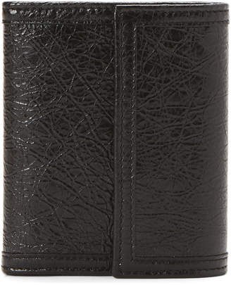 Balenciaga Leather Flap Wallet