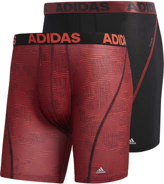 adidas Men's 2-Pk. ClimaCool Graphic Boxer Briefs