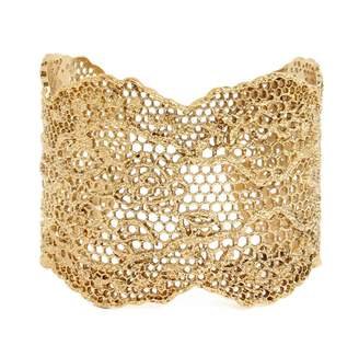 Aurelie Bidermann Lace Cuff in Yellow Gold