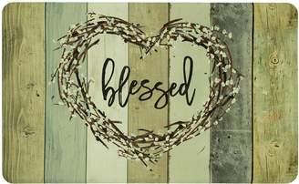 "Mohawk Home Wood Look ""Blessed"" Kitchen Mat"