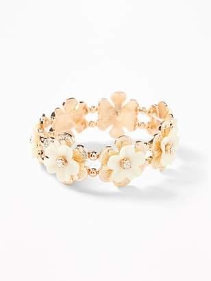 Old Navy Flower Stretch Bracelet for Women