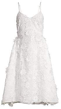 Riviera Mestiza New York Mestiza New York Women's Adrianna Lace Midi Dress - Size 0