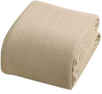 +Hotel by K-bros&Co Hotel Luxury Collection Intradeglobal Hotel Luxury Super soft Cotton Blanket, King, Taos Sand