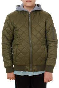Fleece Hooded Nylon Jacket sizes 8-20