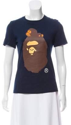BAPE Printed Knit T-Shirt