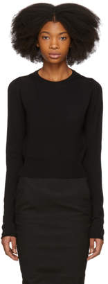 Rick Owens Black Glitter Sweater